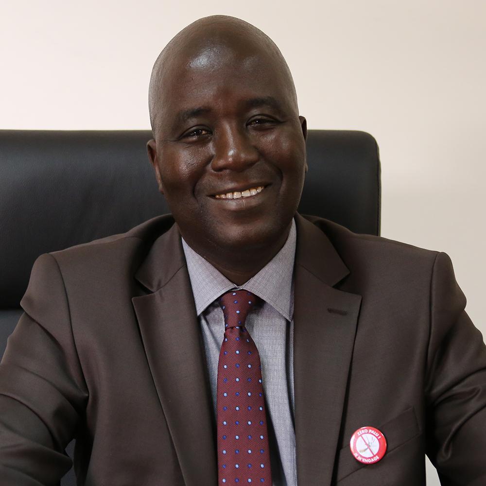 Dr. Omar Sarr, Coordonnateur du Programma National de Lutte contre le Paludisme